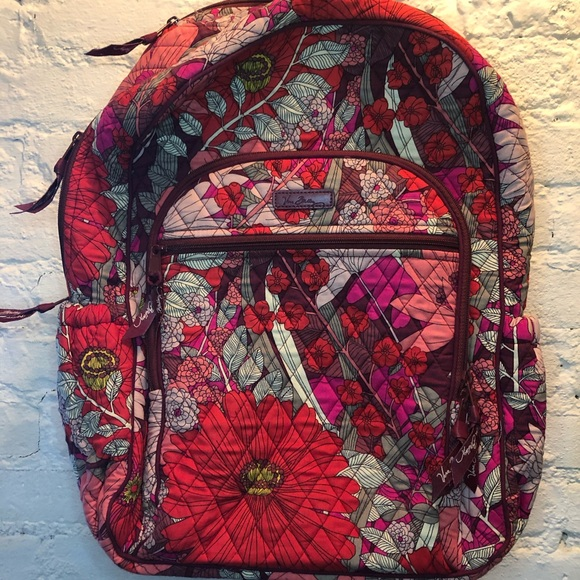 Vera Bradley Backpack with Phone Charger